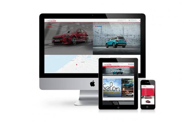 Nieuwe website voor Autobedrijf Beguin